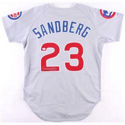 """Ryne Sandberg Signed Cubs Jersey Inscribed """"84 MVP"""" (JSA COA)"""