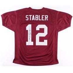 Ken Stabler Signed Alabama Crimson Tide Jersey (JSA COA)