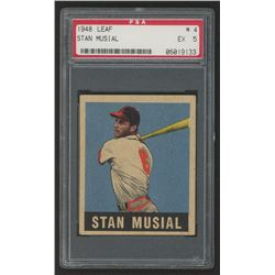 1948 Leaf #4 Stan Musial (PSA 5)