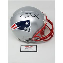 Tom Brady Signed Patriots Full-Size Authentic On-Field Helmet (Tristar Hologram)