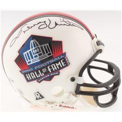 Johnny Unitas Signed Hall Of Fame Mini-Helmet (Beckett Hologram)