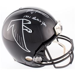 "Brett Favre Signed Falcons Full-Size Authentic On-Field Helmet Inscribed ""1991 Rookie Year"" (Radtke"