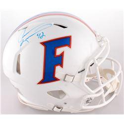 Jevon Kearse Signed Florida Gators Full-Size On-Field Throwback Helmet (Radtlke COA)