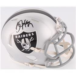 Bo Jackson Signed Raiders Mini-Helmet (Jackson Hologram)