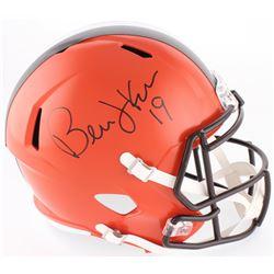 Bernie Kosar Signed Browns Full-Size Speed Helmet (Radtke COA)