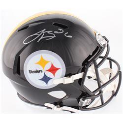 Le'Veon Bell Signed Pittsburgh Steelers Full-Size Speed Helmet (JSA COA)