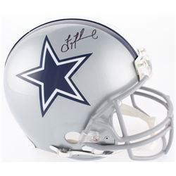 Troy Aikman Signed Cowboys Full-Size On-Field Helmet (Beckett COA)