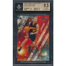 2009-10 Absolute Memorabilia Retail Star Gazing #10 Stephen Curry RC (BGS 9.5)