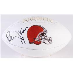 Bernie Kosar Signed Browns Logo Football (Radtke COA)