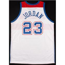 Michael Jordan Signed LE Bullets Jersey (UDA COA)