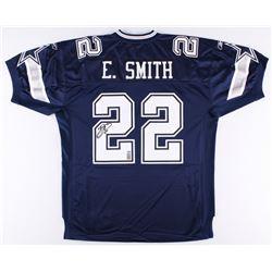 Emmitt Smith Signed Cowboys Jersey (Smith Hologram  Radtke COA)