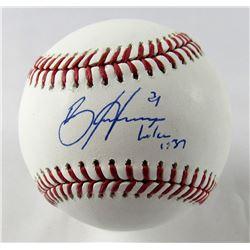 Bryce Harper Signed OML Baseball (JSA LOA)