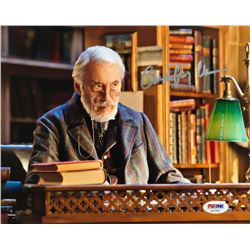 "Christopher Lee Signed ""Hugo"" 8x10 Photo (PSA COA)"