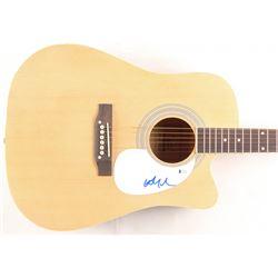 Willie Nelson Signed Full-Size Acoustic Guitar (Beckett COA)