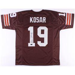 Bernie Kosar Signed Browns Jersey (Radtke COA)