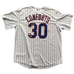 Michael Conforto Signed Mets Majestic Jersey (JSA COA)