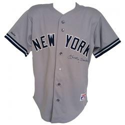 Mickey Mantle Signed Yankees Rawlings Jersey (JSA LOA)