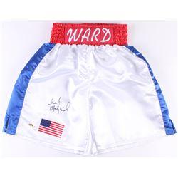 """""""Irish"""" Micky Ward Signed Boxing Trunks (MAB Hologram)"""