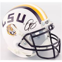 Odell Beckham Jr. Signed LSU Tigers Mini Throwback Helmet (JSA COA)