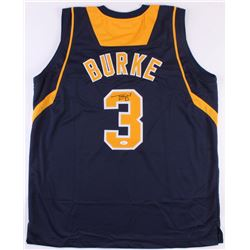 Trey Burke Signed Michigan Wolverines Jersey (JSA COA)