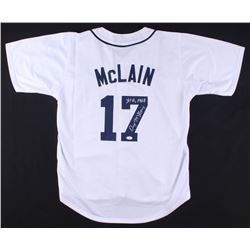 "Denny McLain Signed Tigers Jersey Inscribed ""31-6, 1968"" (JSA COA)"