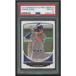 2013 Bowman Draft Draft Picks #BDPP19 Aaron Judge (PSA 10)