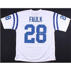 Marshall Faulk Signed Colts Jersey (Radtke COA)