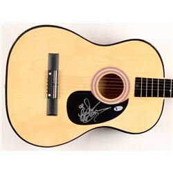 Leann Rimes Signed Acoustic Guitar (Beckett COA)