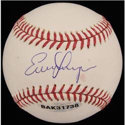 Evan Longoria Signed OML Baseball (Upper Deck COA  MLB Hologram  Longoria Hologram)