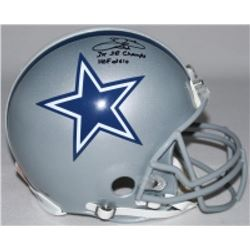 """Emmitt Smith Signed LE Cowboys Full-Size Authentic On-Field Helmet Inscribed """"3X SB Champs""""  """"HOF 20"""
