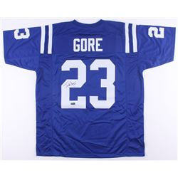 Frank Gore Signed Colts Jersey (Radtke COA)