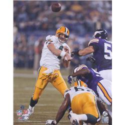 Brett Favre Signed Packers 16x20 Photo (Favre COA)