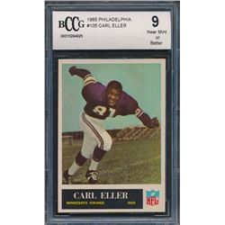 1965 Philadelphia #105 Carl Eller RC (BCCG 9)