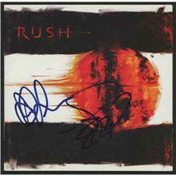 "Geddy Lee Signed Rush ""Vapor Trails"" CD Insert (JSA Hologram)"