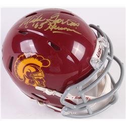 "Mike Garrett Signed USC Trojans Speed Mini Helmet Inscribed ""'65 Heisman"" (Radtke COA)"
