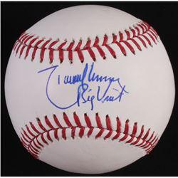 "Randy Johnson Signed OML Baseball Inscribed ""Big Unit"" (JSA COA)"