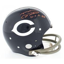 "Mike Ditka Signed Bears Throwback Suspension Full-Size Helmet Inscribed ""H.O.F. 88"" (JSA COA)"