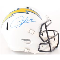 LaDainian Tomlinson Signed Chargers Full-Size Speed Helmet (Radtke COA)