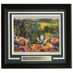 "Leroy Neiman ""Arnold Palmer"" 18x20 Custom Framed Print Display"
