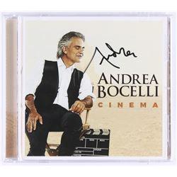 """Andrea Bocelli Signed  """"Cinema"""" CD Album (REAL LOA)"""