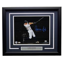 Aaron Judge Signed Yankees 16x20 Custom Framed Photo Display (Fanatics)