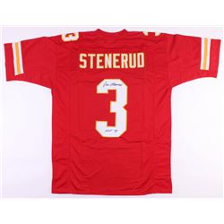 "Jan Stenerud Signed Chiefs Jersey Inscribed ""HOF '91"" (JSA COA)"