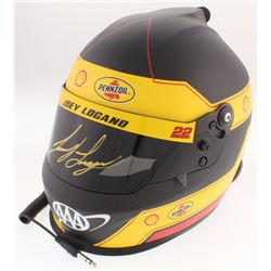 Joey Logano Signed 2018 NASCAR Shell-Penzoil Full-Size Helmet (PA COA)
