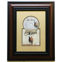 Charles Daniels Signed 14x18 Custom Framed CD Album Display (JSA COA)