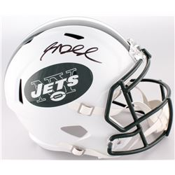 Sam Darnold Signed Jets Full-Size Speed Helmet (Beckett COA)