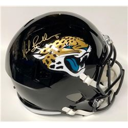 Mark Brunell Signed Jaguars Full-Size Speed Helmet (JSA COA)