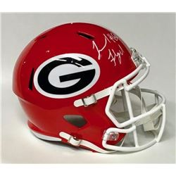 Leonard Floyd Signed Georgia Bulldogs Full-Size Seed Helmet (JSA COA)