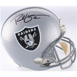 Rich Gannon Signed Raiders Full-Size Helmet (Beckett COA)