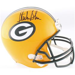 Sterling Sharpe Signed Packers Full-Size Helmet (Beckett COA)