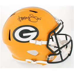 Dorsey Levens Signed Packers Full-Size Speed Helmet (JSA COA)